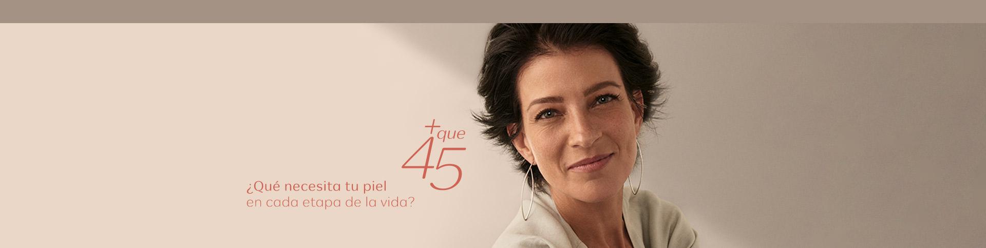 Mujer más de 45 años