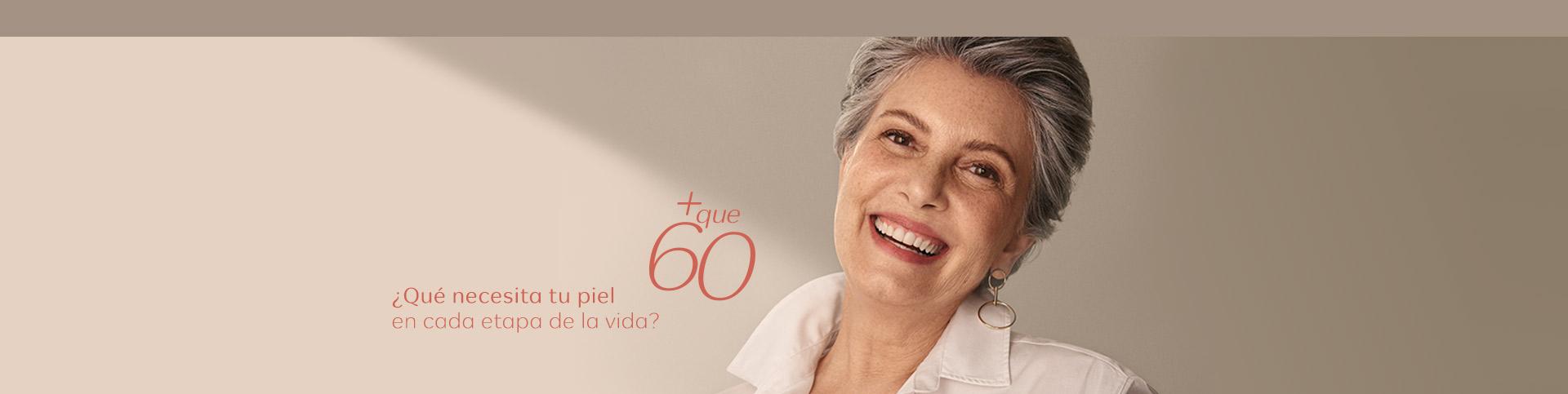 Mujer de más de 60 años